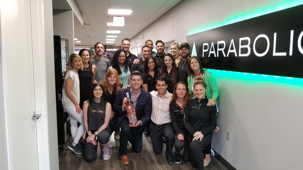 Parabolic Performance and Rehab and Murray Hill Tennis and Fitness celebrated their partnership