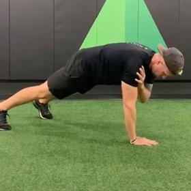 Front Plank + Alt Shoulder Tap